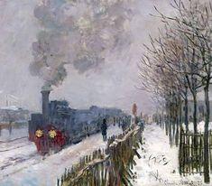 Claude Monet, Il treno nella neve, 1875