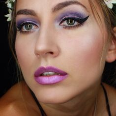 """""""Hiii lovesss !  I love purple on any eye color ! It seems to suit everyone the most ! What do you guys think ?! """" Photo taken by @paulina_allure on Instagram, pinned via the InstaPin iOS App! http://www.instapinapp.com (07/18/2014)"""