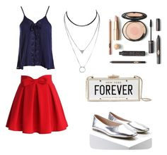 """""""Untitled #144"""" by vane-garcia04 on Polyvore featuring Chicwish, Sans Souci, Forever 21 and Kate Spade"""