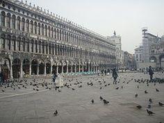 Place San Marco, Venise, Plaza, Italie