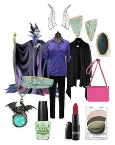 """Maleficent Disneybound"" by nightngle on Polyvore"
