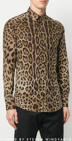 Dolce and Gabbana - Leopard Print Shirt #shirts #dolcegabbana