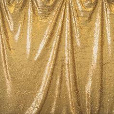 4604 Printed Sequin Light Gold Backdrop