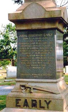 Gen Jubal Anderson Early - Lawyer and Confederate general in the American Civil… Confederate Statues, Confederate Monuments, Confederate Flag, Southern Men, Southern Pride, History Major, Us History, American Civil War, American History