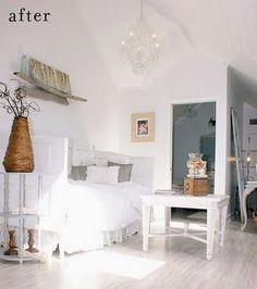 The white on white really creates a spacious visual...