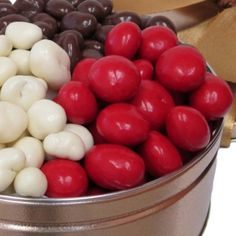 Almond and Cranberry Deluxe Gift Tower Yogurt Covered Strawberries, Chocolate Covered Fruit, Fruit Gifts, Chocolate Toffee, Tin Gifts, Healthy Snacks, Almond, Tower, Passion