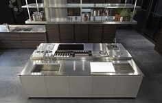 The Abimis Ego Kitchen Made Completely From Stainless