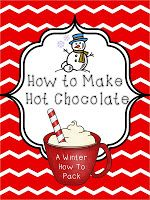 Who doesn't love hot chocolate? This is a super fun way to get kids writing!