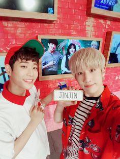 [05.07.16] Astro on twitter - MyungJun e JinJin
