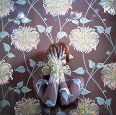 Cecilia Paredes Wallpaper Camouflage