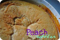 Paula Deen's Peach Cobbler