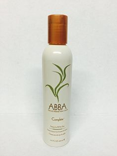 Abba Pure and Natural Hair Care Complete Shampoo 6.75 Oz - http://naturalhaircaretoday.com/natural-hair-care-today/natural-hair/abba-pure-and-natural-hair-care-complete-shampoo-6-75-oz/