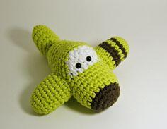 Amigurumi Airplane Crochet Toy