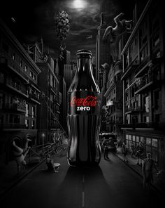 Coca Cola - Black Edition on Behance