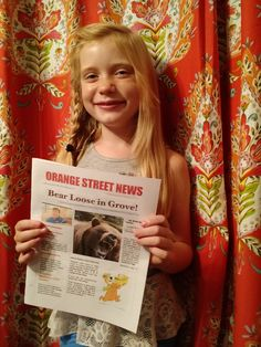 The daughter of a reporter loves pursuing real news, and scooped the local newspaper Saturday with her reporting on a tragic homicide.
