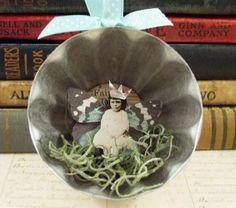 Winter Fairy Jello Mold Ornament — craftbits.com