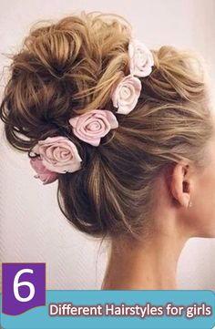 Discover some different hairstyles for girls, and find the best one for you, girls like different hairstyles and for them my today's topic is all about some different hairstyles for girls only.