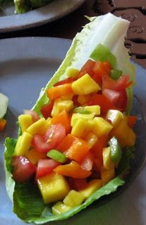 Teri Leventhal's Blog: 811 Recipes: Tomato-Mango Salsa