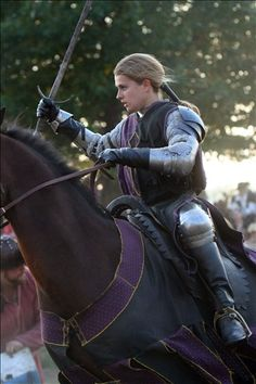 Becca Cooper, female jouster of Paragon Jousting