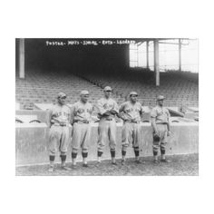 Boston Red Sox Pitchers, Baseball Photo Gallery Wrapped Canvas