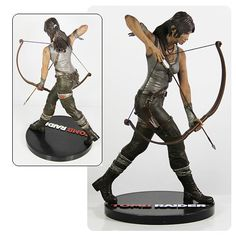 Laura Croft has always been one of the sexiest video game women and this Tomb Raider Lara Croft Statue looks amazing. This statue depicts Laura as she is Tomb Raider Lara Croft, Tomb Raider Game, Tomb Raider Costume, Video Game Decor, Video Games, Laura Croft, Rise Of The Tomb, Living Dead Dolls, Video Game Characters