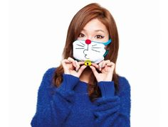 Look Cute in a Doraemon Face Mask