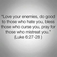 Luke 6:27-28