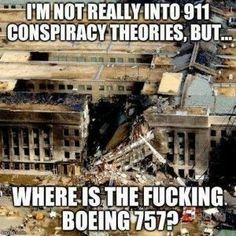 Where are the remains of the Boeing 757?