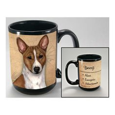 Faithful Friends Basenji Dog Breed Coffee Mug