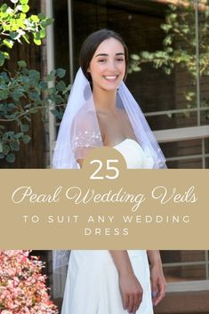 A pearl wedding veil adds a touch of elegance and style without overshadowing wedding your dress. Find all kinds of pearl veils from cathedral to short, 2 layer to simple, what will you choose? Wedding Planning Tips, Wedding Tips, Destination Wedding, Wedding Attire, Wedding Dresses, Fingertip Veil, Cathedral Wedding Veils, Royal Brides, Rustic Wedding