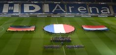 """Länderspiel abgesagt: """"Verlassen Sie zügig das Stadion"""""""