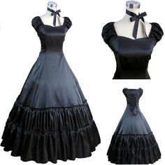 Black Ladies Gothic Victorian Cosplay Lolita Costume Ball Gown Fancy Party  Dress  Unbranded  LolitadressBallGown ca52a28bc44d