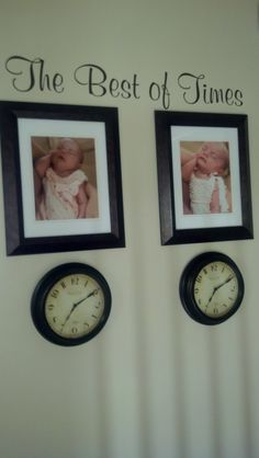got this from pinterest, clocks stopped at time they were born