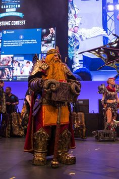 Check out some of the epic Blizzard cosplay showcased at gamescom 2015! Which…  https://www.facebook.com/Hogal-Cosplay-1402121883370543/