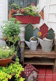 Kitchen Deck (Garden of Len & Barb Rosen)