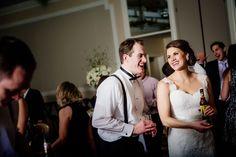 Morris Inn wedding reception dance candid photography