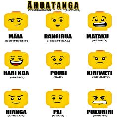 maori words for expressions