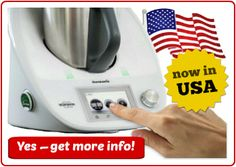 Tell your friends -- Thermomix TM5 is now in USA! More info at SuperKitchenMachine.com