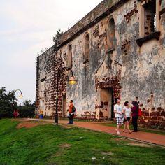 St. Paul's church in Malacca, Malaysia - Best 9 Things To Do In Malacca, Malaysia © Melanie Klien @Mafambani