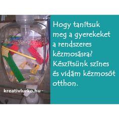 ** Blogajánló **  Rendszeres és alapos kézmosással megelőzhetők a betegségek. Tanítsuk meg a lurkókat kezet mosni.  Játékos mondókával segíthetjük a jókedvet>>http://kreativlurko.hu/blog/tiszta-a-kezem-b72.html  Jó játékot kívánok! Kreatív Lurkó