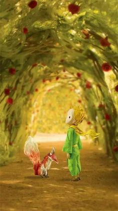 The little prince a day the fox in the rose garden Tumblr Wallpaper, Photo Wallpaper, Cool Wallpaper, Maria Rose, Baby Movie, Mystique, Love Illustration, The Little Prince, Stop Motion