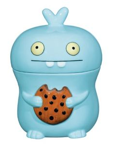 next time you come over we'll have a cookie! Uglydoll Babo ceramic cookie jar by David Horvath & Sun Min Kim Cookie Jars For Sale, Ceramic Cookie Jar, Cookie Tin, Cookie Gifts, Design3000, Disney Cookies, Ugly Dolls, Cute Cookies, Color Azul