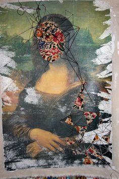 Mona_Lisa_detail4 by maria wigley, via Flickr