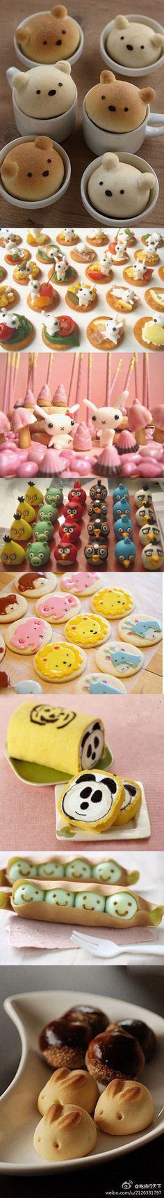 Cute food.