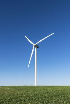 Wind farms, like the one in Canastota, New York, are key to the state's renewable energy goals.