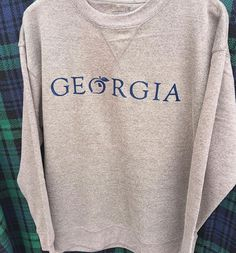 Cozy up in this unbelievably soft @peachstatepride pullover! Shop this in stores and online! #shopPD