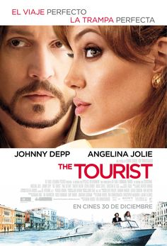 is a 2010 thriller-romance and action film co-written and directed by Florian Henckel von Donnersmarck, starring Angelina Jolie and Johnny Depp. It is a remake of the 2005 French action film Anthony Zimmer. Johnny Depp Angelina Jolie, Film Movie, See Movie, Movie List, Comedy Movies, Series Movies, Tv Series, The Tourist Movie, Action Movies