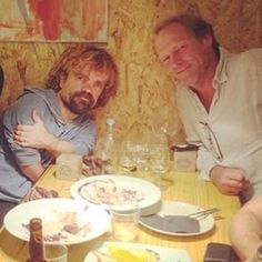 """The cast go for dinners together. 