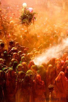 Happy Holi in Baldeo, India