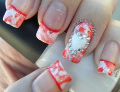 """Hard Candy Valentine"" nail art by Tawnee L. Cordova    Follow me on Pinterest and Facebook for NEW Designs every week!!!"